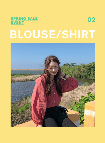 ♡BLOUSE/SHIRT SALE EVENT 2차♡
